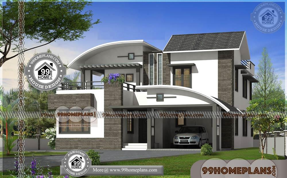 Small Modern Contemporary House Plans 60+ Small Two Storey Homes