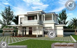Small Two Story Homes | 100+ Modern South Indian House Design Plans