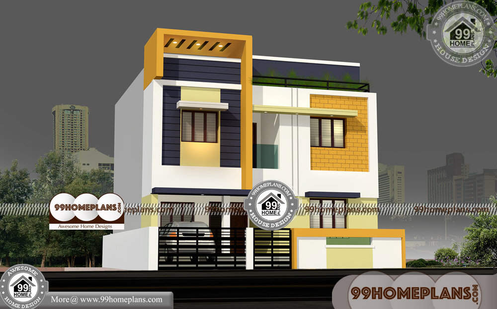 Tall Narrow House Plans & 80+ New Two Storey Homes Designs Online