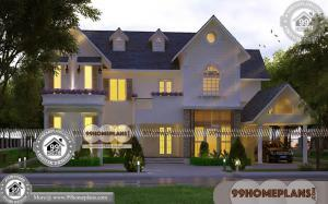 Two Storey Display Homes 90+ Modern Kerala House Plans With Photos