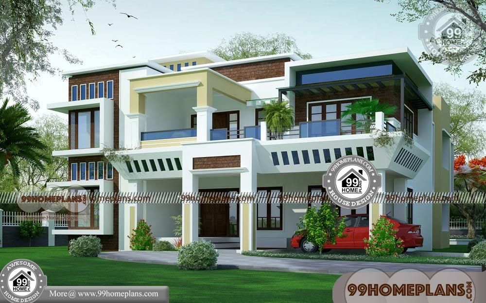 Two Storey Modern House 50+ Box Type House Floor Plans New ...