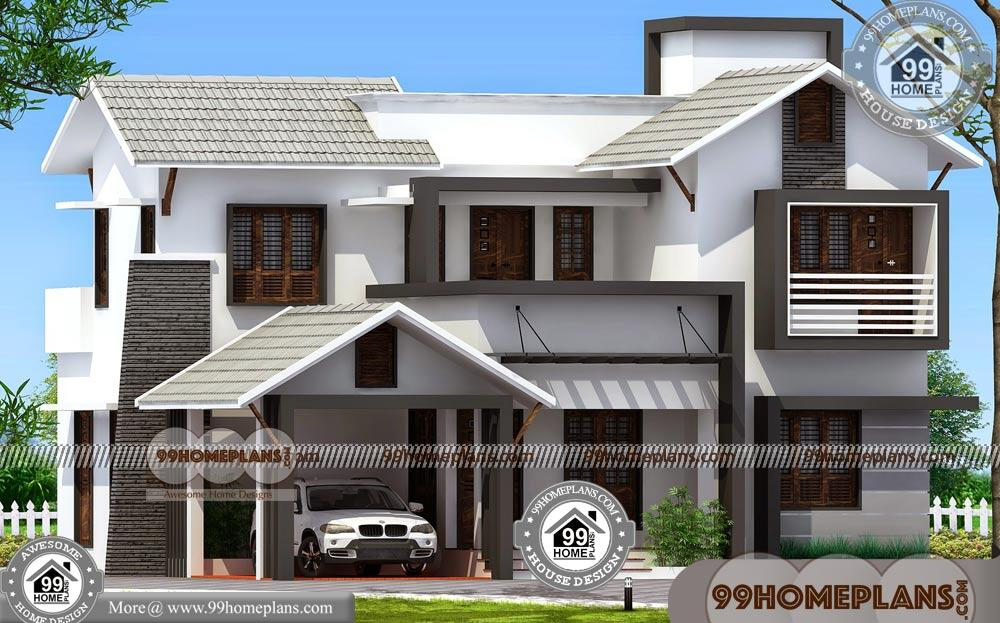 Two Storey Plan 70+ Contemporary Home Elevation Designs Collections