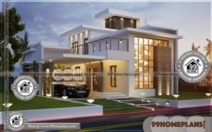 Two Storey Small House & 50+ Contemporary Kerala Homes Collections