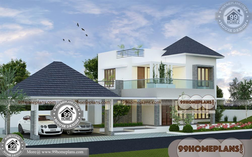 Two Story Home Floor Plans 80+ Kerala Traditional House Models Online