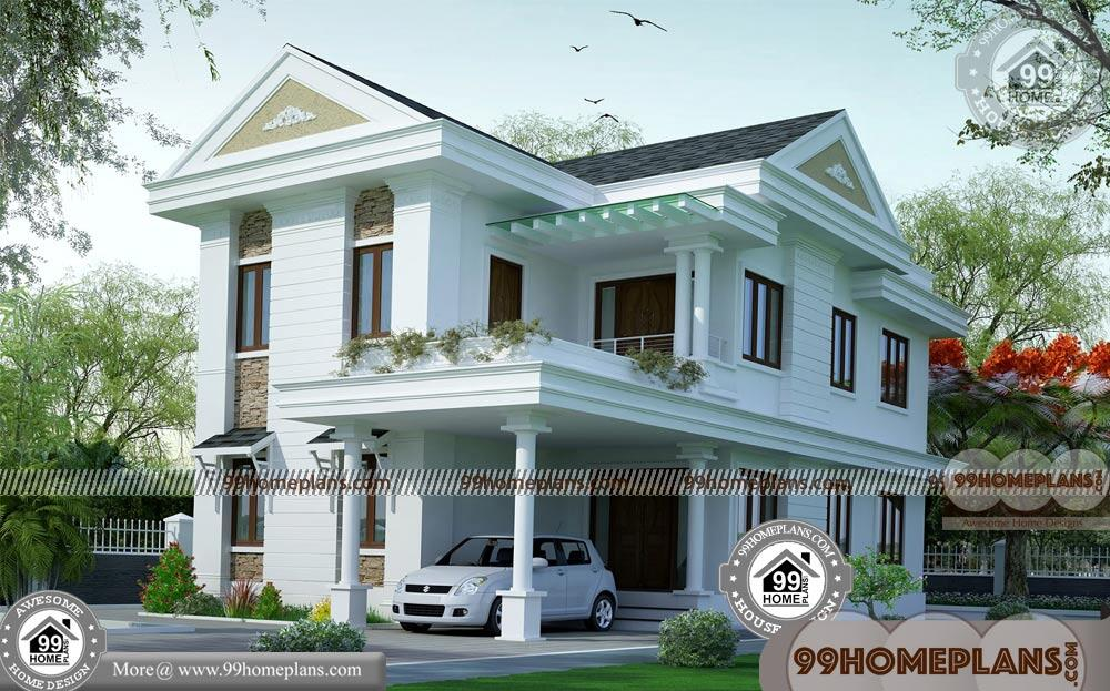 Two Story Modern House Design 100 Latest House Designs In India