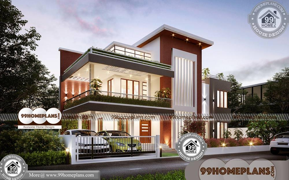 Urban Home Plans & 60+ Small Two Story House Floor Plans Collections