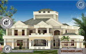 Villa Design Ideas & 90+ Small Double Story House Modern Collections