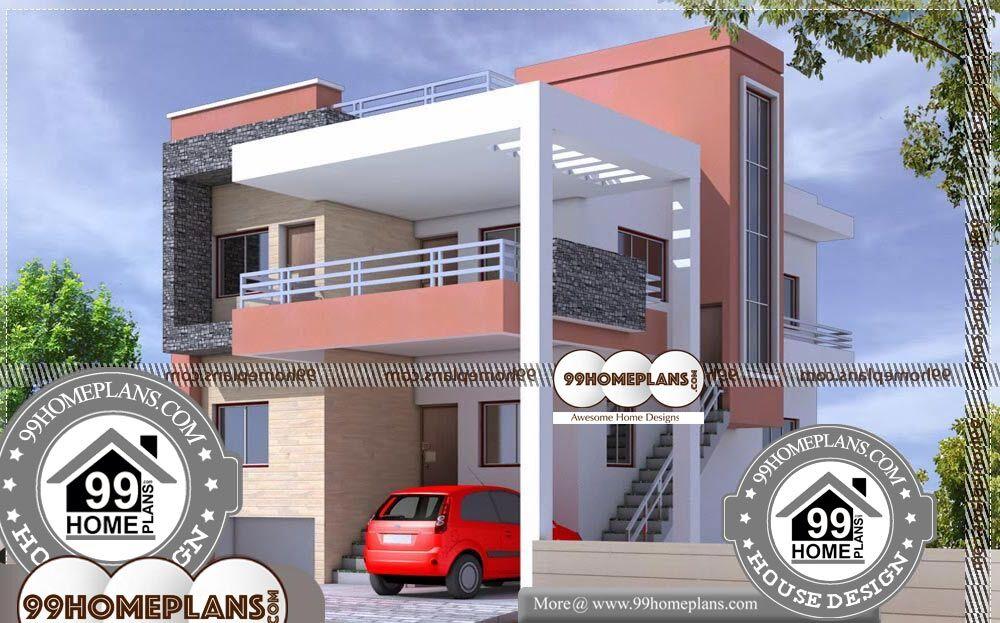 Apartment Building Plans - 2 Story 1800 sqft-Home