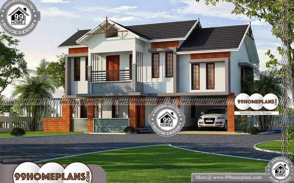 Kerala House Architecture Plans - 2 Story 2800 sqft-Home