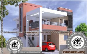 Apartment Building Plans | 50+ Modern House Plans Double Storey Ideas