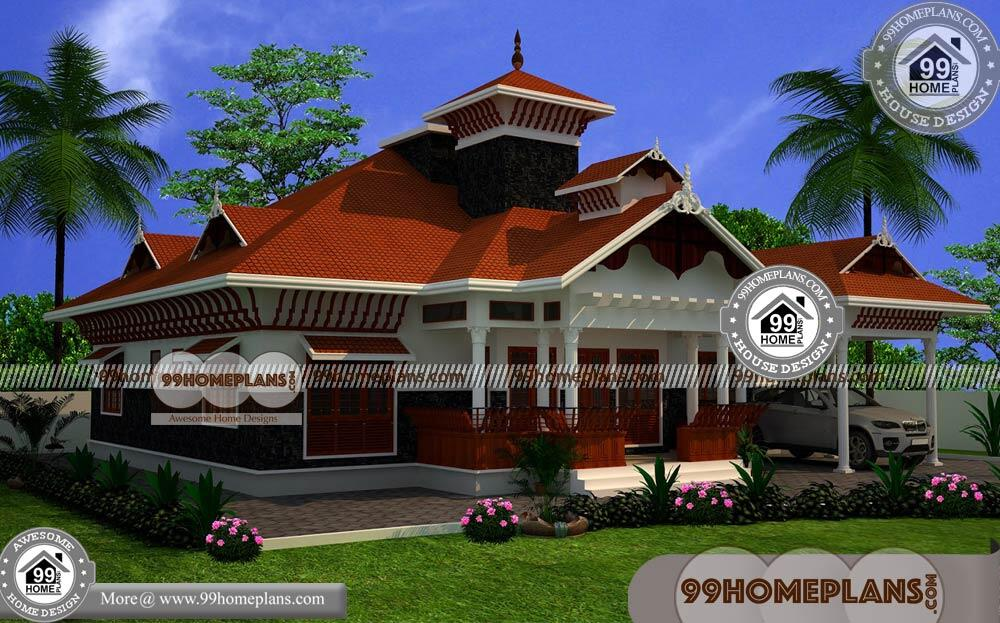Nalukettu Houses in Kerala 50 Traditional Kerala House Plans With Photos