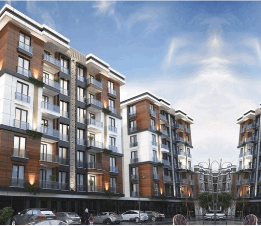 Elevation Designs For 3 Floors Building Modern Home Plans